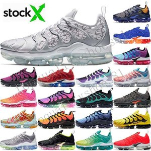 TN Plus Donna Uomo Scarpe da ginnastica Scarpe da corsa Gioco Royal Orange USA Tangerine Mint Grape Volt Hyper Violet Tn Designer Shoes Taglia 36-46