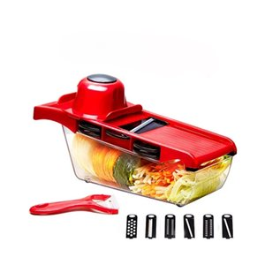 Multi-function Kitchen Christmas Party Slicer Vegetable Cutter With Stainless Steel Blade Manual Potato Peeler Carrot Grater Dicer YD0551