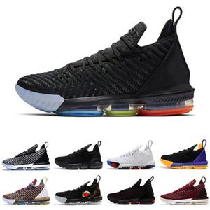 2019 zapatos de baloncesto 16 para los hombres del 1 al 5 I Promise Oreo FRESCO criado triples hombre del diseñador negro blanco entrenadores transpirables las zapatillas de deporte