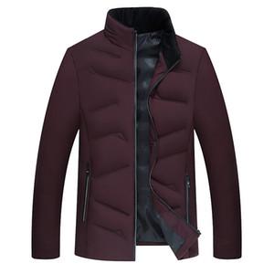 Legible Yeni 2018 Sonbahar Kış Erkekler Ceket Rahat Pamuk-yastıklı Ceket Sıcak Erkekler Parka Dış Giyim erkek Ceket Giysileri