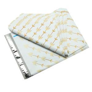 26 X 33 X 4 (cm) pacote de 100 peças de plástico Sacos com porte sacos para envio
