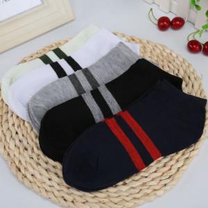 Primavera Estate Mens barca calzini donne degli uomini di alta qualità calze sportive Mens Stylist sport di pallacanestro calzino adolescente nero Socks