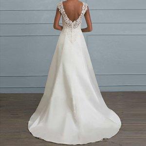 Костюм-платье мэм Solid Color Lace Split Joint бретели выдалбливают Reveal Назад Высокое качество платье Тост Свадьба Полный Longuette