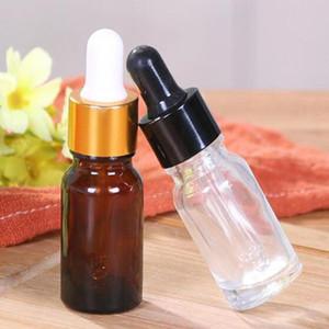 ecigarette vaporizador 10g vidrio con gotero vacío E E botellas jugo líquido del vidrio de 10 ml para el perfume del aceite esencial