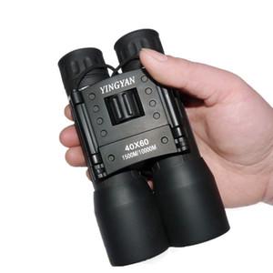 جديد وصول 40x60 مجهر التكبير مجال نظارات كبيرة المحمولة التلسكوبات دروبشيبينغ الصيد hd مناظير قوية الساخنة 2019