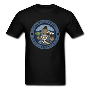 Jus De Cactus Réel T-shirt Hommes Vintage Graphique Tops T-shirts 100% Coton D'été Vêtements Drôles Mens Cadeau Tshirt Fit T-shirts