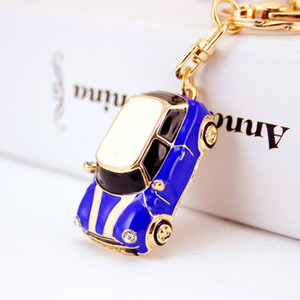Creative Beetle car model key chain small gift key chain metal pendant