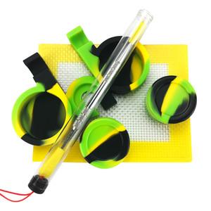 Il kit di contenitori in silicone antiaderente 2 + 1 comprende vaschette in silicone per cera per utensili in silicone per vasetti di silicone