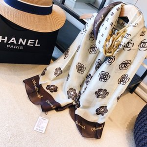 2020 high quality classic European and American Luxury hot style designer silk printed scarf elegant lady wrap scarf CV01