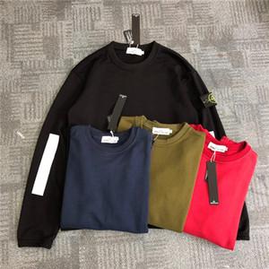suéter con capucha de lujo de los hombres blancos de las mujeres rojas impresión calle hip hop encapuchado s8110