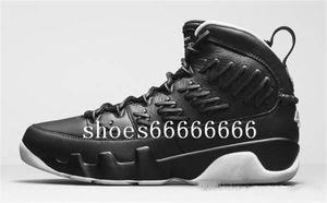 Cheap Jumpman 9 IX tênis de basquete Homens 9s Pinnacle Baseball Glove Brown Black Space Jam Cinza frio Os sneakers espírito AJ9 com B25 originais