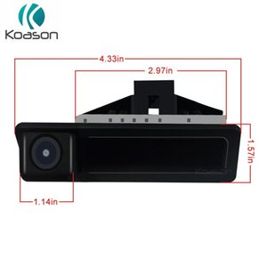 Koason Handpull Trunk Open Up Car Rear View Camera Reverse Camera For E60 E90 E70 E71 2005 -2010 Gps