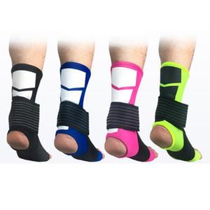 Lucha contra el esguince Deportes soporte para el tobillo Riding Equipo de Protección de baloncesto del tobillo protector transpirable Twine tobillo vendaje ZZA634