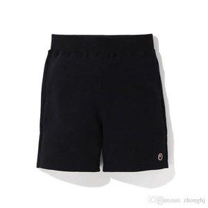 Preto Letters cinzento impresso Shorts amante do skate soltas de algodão Hip Hop Shorts calças dos homens por atacado Tamanhos M-2XL