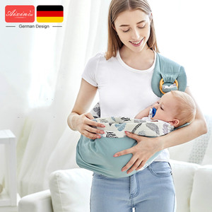 Baby Carries Cotton Wrap Sling Carrier Newborn Safety Ring Kerchief Baby Carrier Comfortable Infant Kangaroo Bag