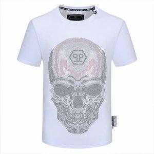 Luxury fashion T-shirt hip hop printing crime famous brand T-shirt short sleeve high quality men's T-shirt Polo m-xxxl size HM19