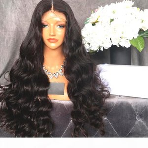 Free Part Glueless Loose Wave Full Lace Human Hair Wigs For Black Women Virgin Brazilian Hair Lace Front Wavy Wig With Baby Hair