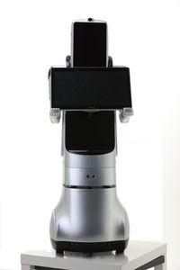 El robot de comunicación recepcionista humanoide PadBot X2, el robot de visualización de productos personalizados para minoristas muestra centros comerciales de oficinas gubernamentales