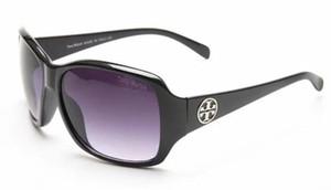 Männer frauen Sonnenbrillen Marke Spiegel Sonnenbrille Weibliche Brille Goldrahmen Runde Rosa Sonnenbrille Polarisierte Frau 919