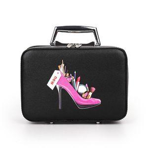 Sacs à cosmétiques Boîte Maquillage Sac Femmes Étuis à cosmétiques Mignon Beauté Cas Voyage Bourse Bourse à bijoux Présentoir De Mode Petit Taille
