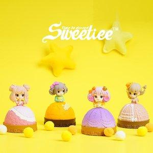 Милая сладкая конфета Принцесса кукла игрушка, слепая коробка, торт трансформируется в красивую девушку, 4 стиля, орнамент Xmas Kid Birthday Girl Gift, Collect, 2-2