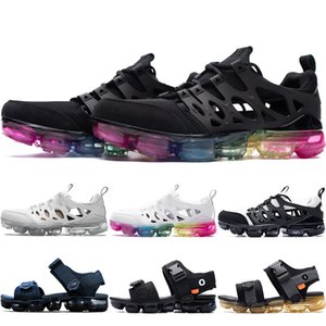Новая OW TN Plus Увеличить Chalapuka Трусы Summer Beach флип-флоп черный белый вскользь сандалии обувь женщин Крытый Нескользящая Спортивные сандалии