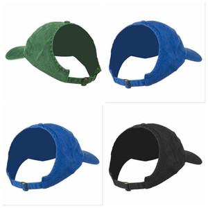 Filles Ponytail Baseball Caps moitié vide Chapeau de soleil Top Visor Mode Prêle Cap Messy Bun Snapback Cheveux naturels Respirant Chapeaux DYP99