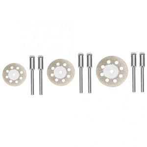 Grit 150 Diamond corte de la rueda de pulido disco de corte Rotary cuchilla 20/22/25 mm Diamond Cutting Disc