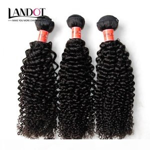 Brasileiros Curly Humanos Tece cabelo 3 Pacotes não transformados 8A peruana Malásia indianos cambojanos mongol Jerry Kinky extensões do cabelo Curls