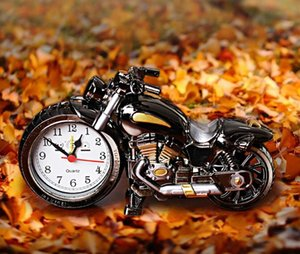 road racing motorcycle clock timing alarm table clock