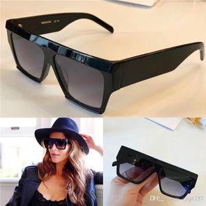 Neue Modedesigner Damen-Sonnenbrille 40030 Rahmen einfache populärer Verkaufsstil Top-Qualität uv400 Schutzbrille mit Box