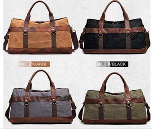 Designer luxury handbags purses men women Shoulder Bag Vintage Retro Canvas Leather Weekend Duffle Travel Tote Bag fashion bags for womb660#