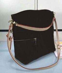 Oversizebags 뜨거운 판매 최고 품질의 유명 브랜드 여성 정품 가죽 핸드백 베개 가방 M41544 Melie 가방 CX 번호 (215) 유무 스트랩 지갑 어깨