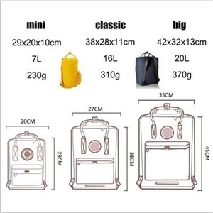 7L 16L 20L Backpack for Men Women Kids Kid School Bag Famous Brand Waterproof computer Classic Backpack Best Gift Kankenlying