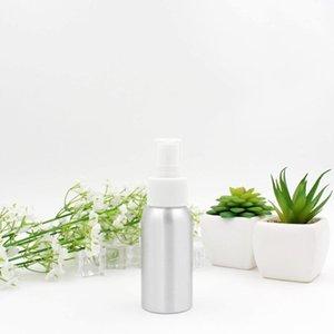 Aluminio spray atomizador botella 30ml-500ml aerosol de la niebla botellas recargables vacíos del metal botella de perfume cosmética Botellas de embalaje GGA3467-3