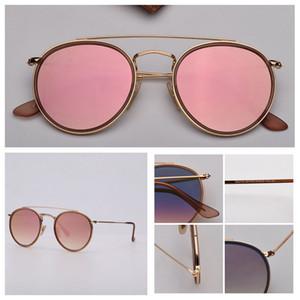 디자이너 선글라스 3647 모델 최고 품질의 선글라스 데 lunettes 드 솔레 무료 검은 색 또는 갈색 가죽 케이스 깨끗한 천 소매 상자