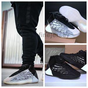 2020 Mens Quantum Баскетбольной обуви Kanye West 3M Reflective Zebra Статических женщины Дизайнер кроссовки Zapatillas Hombre де Chaussures