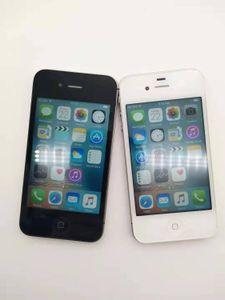 잠금 해제 된 iPhone 4S A5 듀얼 코어 3.5 인치 8 / 16 / 32 / 64GB ROM GSM 8MP 카메라 WIFI GPS iOS 휴대 전화