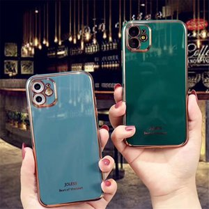 designer phone case For iphone 11 pro max case x xr xs max se 2020 7 8 Plus Luxury Colorful Plating Soft For coque iphone 11 case cover