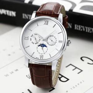 2020 All Subdials Work leiseure Mens or women Stass Steel Quartz Wristwatches Stopwatch watch Watch Top relogies relojes Best Gift
