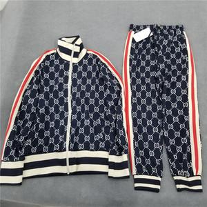 Frete grátis Homens Mulheres Moda Sweater Terno de luxo unissex fatos de treino de alta qualidade Jogger Suits jacket + pants conjuntos S-2XL B104810W