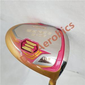 New Women Golf clubs HONMA S-06 4 Star Gold color Golf driver 11.5 loft Graphite L flex driver Clubs Free shipping