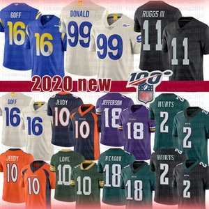 11 Henry III Ruggs 99 Aaron Donald 16 Jared Goff Jersey Amor Justin Jefferson Hurts Jalen Reagor Jerry Jeudy Los Ángeles
