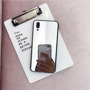 Factory Direct Makeup Mirror TPU Shockproof Casess For LG K4 2017 K10 2018 K11 Q6 K40 Q10 G6 G8 V40 V30 G5 V20 V10 V30 Plus G7 G4 Back Cover