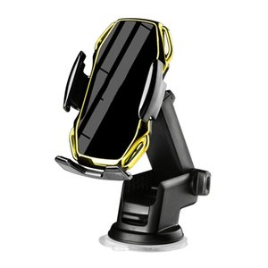 360 ° Rotatable Wireless Car Charger 10W Fast Rechargeable Cell Phone Holder