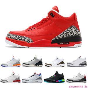 Varsity Red Chlorophyll Mocha 3s Tinker 3 III Men Basketball Shoes Katrina Knicks Rivals Quai 54 WOLF grey Man Sports Sneakers