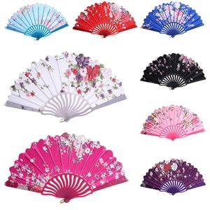 Folding Chinese Style Hand Fan Fashion Party Dress Accessories Summer Fan Best choice for summer wedding and party G311