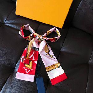 Vendita calda della sciarpa di seta fascia di modo delle donne del progettista fasce sciarpa Pattern, grado superiore Seta Seta Capelli