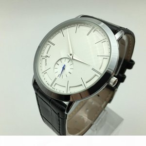 Hot sale 40mm small three needle quartz leather mens watches fashion casual men dress designer watch wholesale male gifts wristwatch horloge