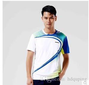 Atacado-Kawasaki Profissional Respirável Badminton T-Shirt de Secagem Rápida Esporte Ao Ar Livre Roupas Jersey Para Homens E Mulheres ST-16135 16235